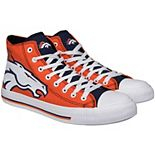 Men's Denver Broncos Big Logo High Top Sneakers