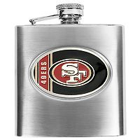 San Francisco 49ersStainless Steel Hip Flask