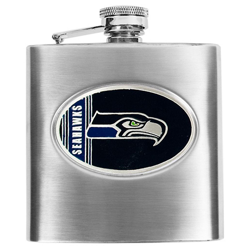 Seattle SeahawksStainless Steel Hip Flask