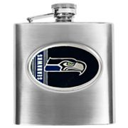 Seattle Seahawks Stainless Steel Hip Flask