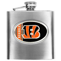Cincinnati BengalsStainless Steel Hip Flask