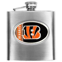 Cincinnati BengalsStainless Steel Hip Flask