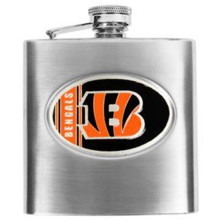Cincinnati Bengals Stainless Steel Hip Flask