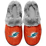 Women's Miami Dolphins Cable Knit Slide Slippers