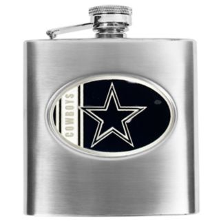 Dallas Cowboys Stainless Steel Hip Flask