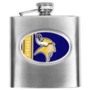 Minnesota VikingsStainless Steel Hip Flask