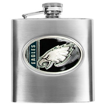 Philadelphia Eagles Stainless Steel Hip Flask