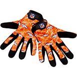 Men's Denver Broncos Heavy Duty Camouflage Work Gloves
