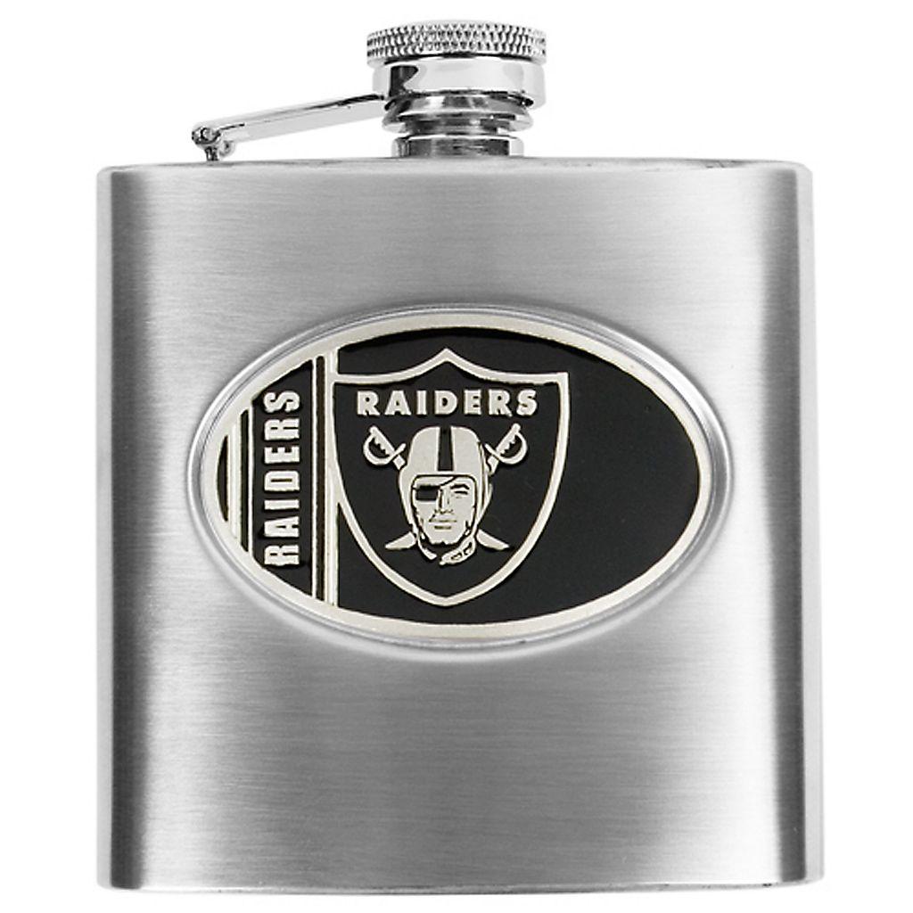 Oakland RaidersStainless Steel Hip Flask