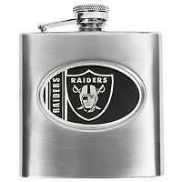 Oakland RaidersStainless Steel Hip Flask