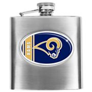 St. Louis Rams Stainless Steel Hip Flask