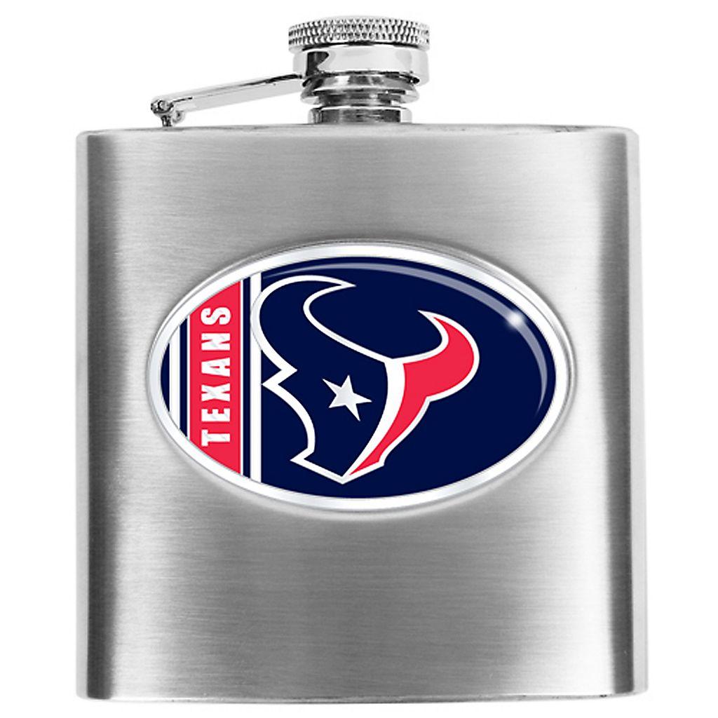 Houston TexansStainless Steel Hip Flask