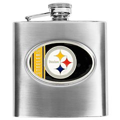 Pittsburgh SteelersStainless Steel Hip Flask