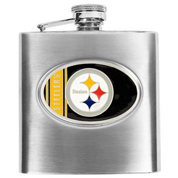 Pittsburgh SteelersStainless Steel Hip Flask