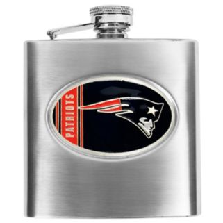 New England Patriots Stainless Steel Hip Flask