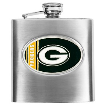 Green Bay PackersStainless Steel Hip Flask