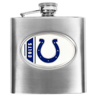 Indianapolis Colts 6-Ounce Stainless Steel Hip Flask