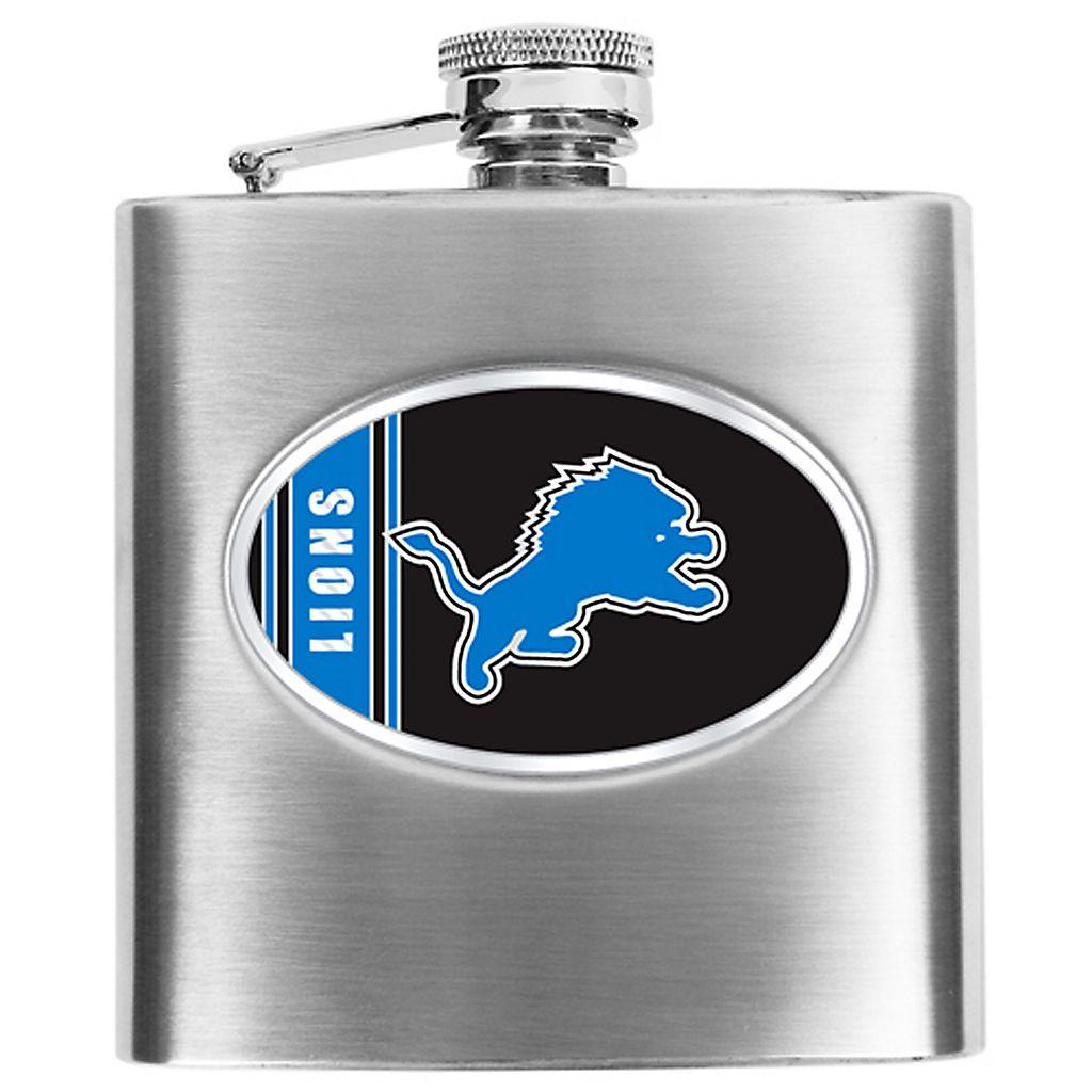 Detroit LionsStainless Steel Hip Flask