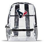Houston Texans Team Logo School Clear Bag