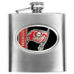 Tampa Bay Buccaneers Stainless Steel Hip Flask