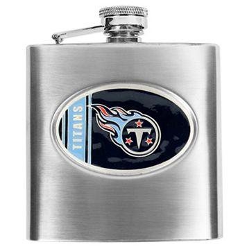 Tennessee TitansStainless Steel Hip Flask