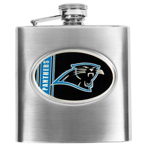Carolina Panthers Stainless Steel Hip Flask