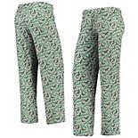 Women's Gray/Midnight Green Philadelphia Eagles Retro Repeat Print Sleep Pants