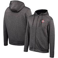 Ohio State University Mens Full Zip Hoodie Rose Bowl Champions 2019 Solid