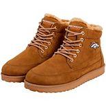 Men's Denver Broncos High Top Moccasin Shoes