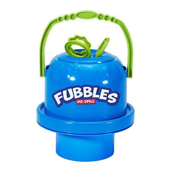Fubbles No Spill Big Bubble Bucket - Blue