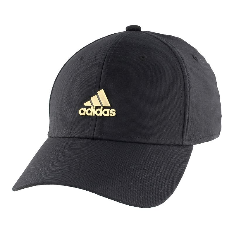 Men's adidas Stadium Stretch-Fit Hat, Size: Small/Medium, Black