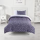 The Big One® Purple Abstract Reversible Comforter Set with Sheets
