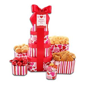 Alder Creek Valentine Sweets Gift Tower