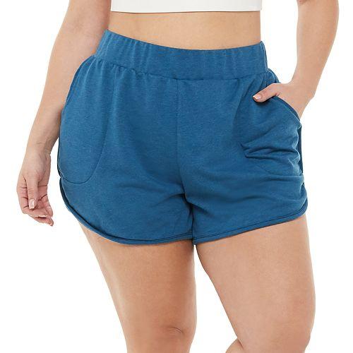 Plus Size Nike Yoga Shorts