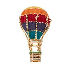 Napier Hot Air Balloon Pin