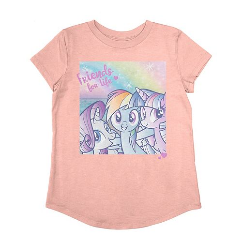 """Girls 4-12 Jumping Beans® My Little Pony """"Friends For Life"""" Graphic Tee"""