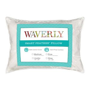 Waverly Smart Feather Medium Support Pillow