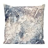 Stratton Home Decor Marble Square Decorative Pillow