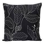 Stratton Home Decor Vintage Floral Decorative Square Pillow