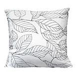 Stratton Home Decor Vintage Floral Decorative Square Pillow