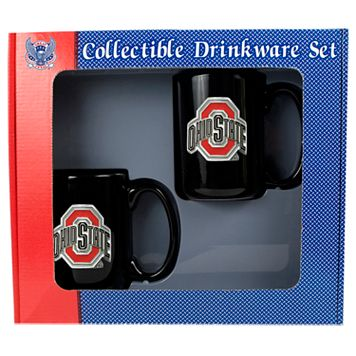 Ohio State University Buckeyes2-pc.Mug Set