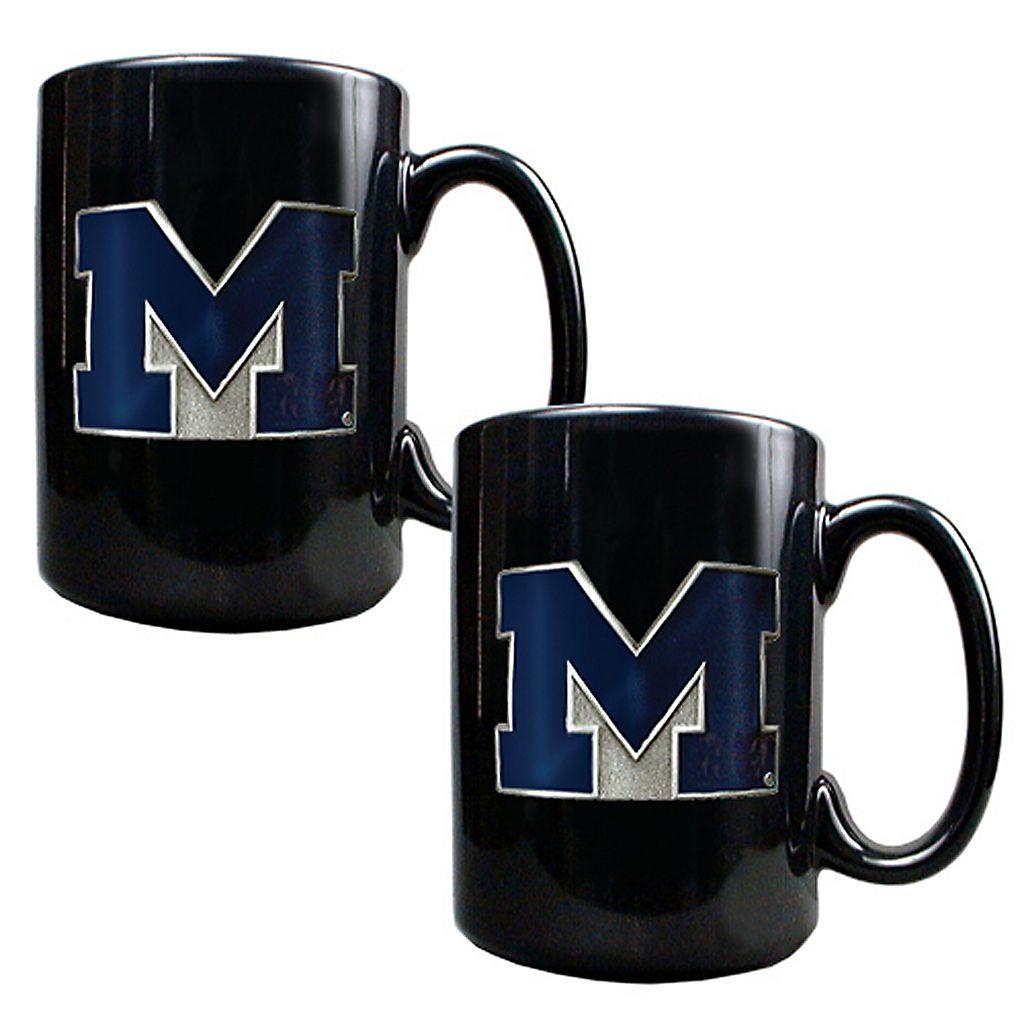 University of Michigan Wolverines 2-pc.Mug Set