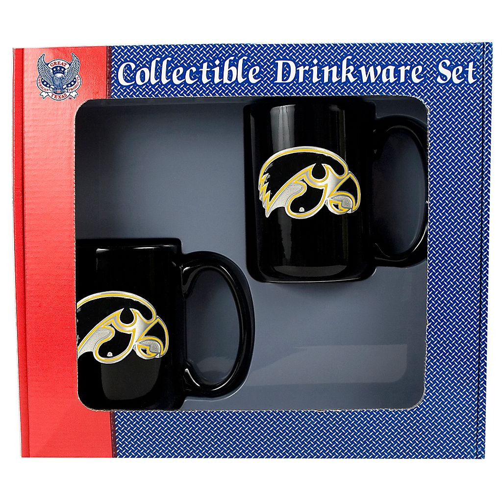 University of Iowa Hawkeyes 2-pc. Mug Set
