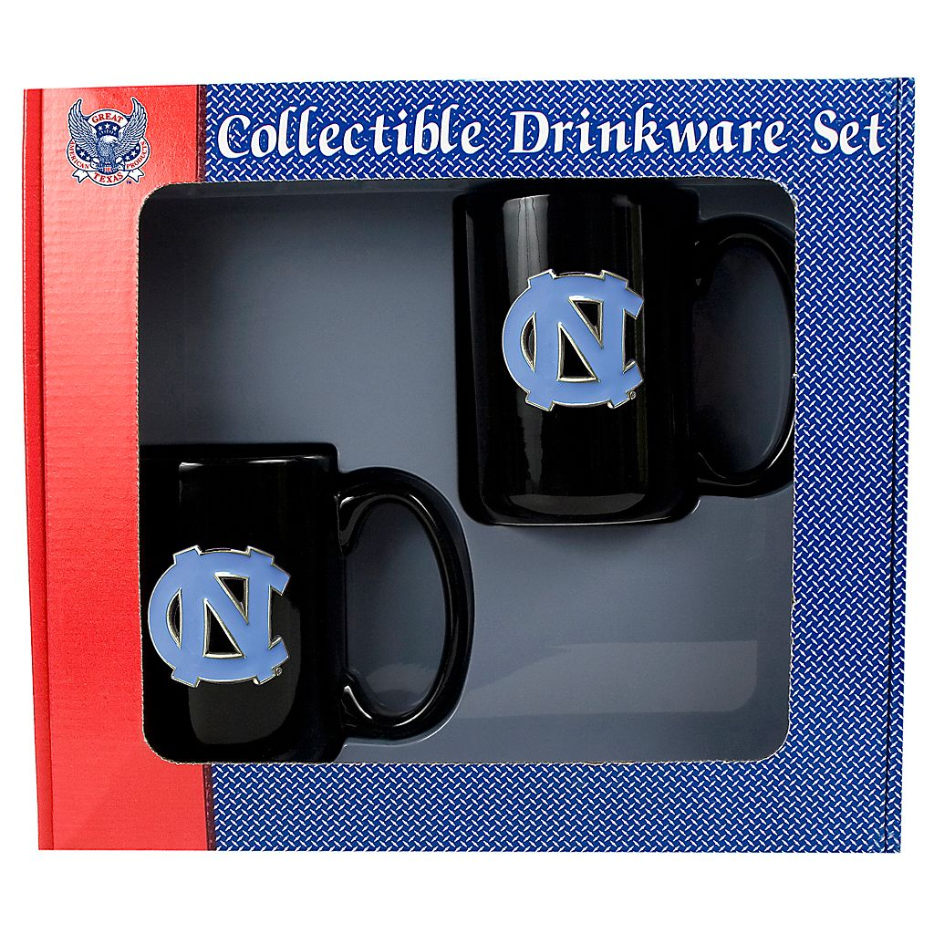 University of North Carolina Tar Heels 2-pc. Mug Set