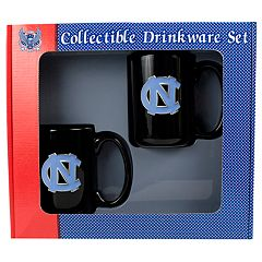 University of North Carolina Tar Heels 2 pc Mug Set