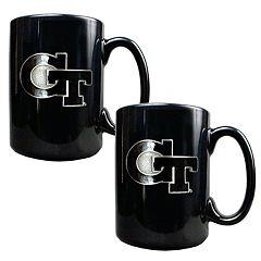 Georgia Tech Yellow Jackets 2-pc.Mug Set