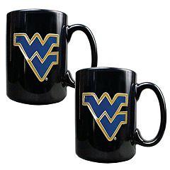 West Virginia University Mountaineers 2 pc Mug Set