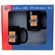 Illinois Fighting Illini 2-pc. Mug Set