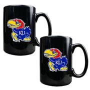 University of Kansas Jayhawks 2-pc. Mug Set