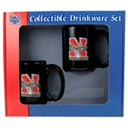 University of Nebraska Cornhuskers2-pc.Mug Set